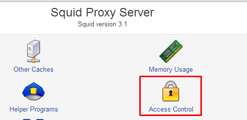 Access Controll By Mac Address On Squid3